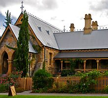 The old police station, Clarendon, Adelaide by Ali Brown