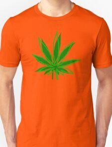 Abstract Cannabis Leaf T-Shirt