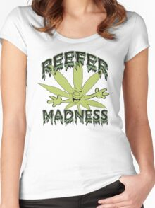 Reefer Madness Women's Fitted Scoop T-Shirt