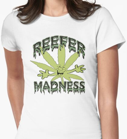 Reefer Madness Womens Fitted T-Shirt