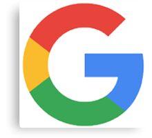 Google G Canvas Print