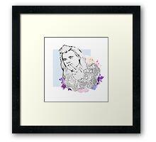 Flower Harry Framed Print