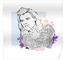 Flower Harry Poster
