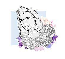 Flower Harry Photographic Print