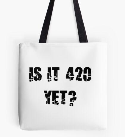 Funny Marijuana 4:20 Tote Bag