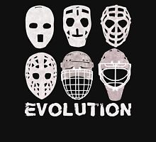 Hockey Goalie Mask Evolution Unisex T-Shirt
