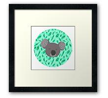 koala love Framed Print