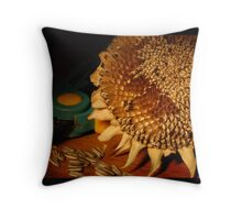 lopped ii Throw Pillow