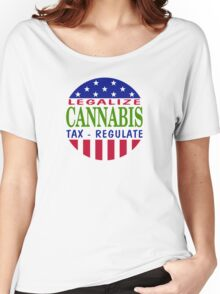 Legalize Cannabis Women's Relaxed Fit T-Shirt