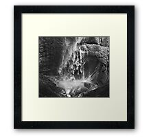 Yosemite Fall Framed Print