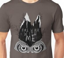 Fire walk with me Unisex T-Shirt