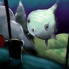 Moonbear and Sunfish by Michael Bombon