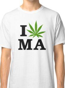 I Marijuana Massachusetts Classic T-Shirt