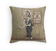 Asylum park Lucy -zombie girl Throw Pillow