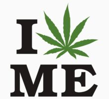 I Love Maine Marijuana Cannabis Weed by MarijuanaTshirt