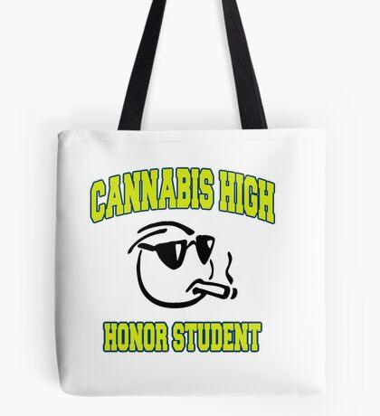 Cannabis High Tote Bag