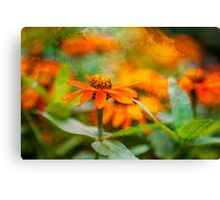 Flower Texture Canvas Print