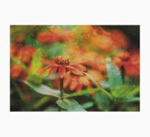 Flower Texture One Piece - Long Sleeve
