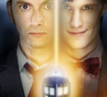 Doctor Who - Tennant & Smith  Sticker