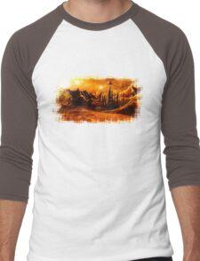 Doctor Who - Gallifrey & Doctor's Name Men's Baseball ¾ T-Shirt