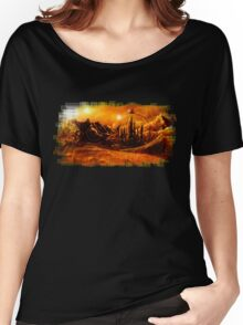 Doctor Who - Gallifrey & Doctor's Name Women's Relaxed Fit T-Shirt