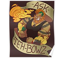 Ask-The-Bowz 1st anniversary design-Tank Poster
