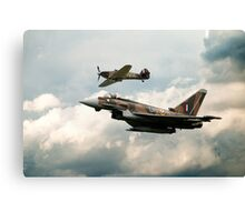 249 Squadron Legend Canvas Print