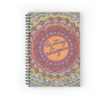 Be Strong and Courageous Spiral Notebook
