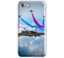 Vulcan Red Arrows Break iPhone Case/Skin