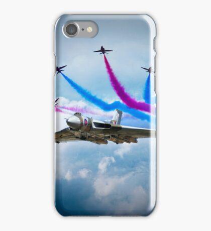 Vulcan Red Arrows Break iPhone Case/Skin