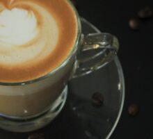 latte art 2 Sticker