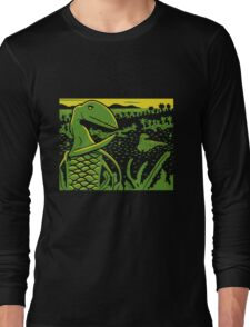 Dimorphodon and Scelidosaurus - Yellow and Green T-Shirt