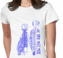 Sky Scraping Womens Fitted T-Shirt