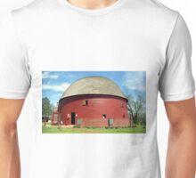 Route 66 - Round Barn Unisex T-Shirt