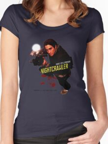Nightcrawler - use zoom and steady hands Women's Fitted Scoop T-Shirt