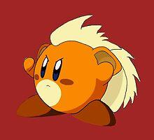 Growlithe | Kirby Edition by SALSAMAN