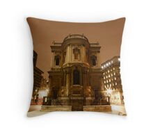 St Mary Le Strand Throw Pillow