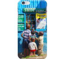 Street SHOP in Nairobi, KENYA iPhone Case/Skin