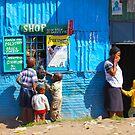 Street SHOP in Nairobi, KENYA by Atanas NASKO