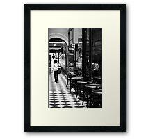 'Traveller' Framed Print