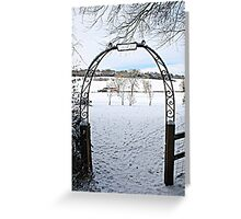 Gate to Narnia Greeting Card