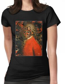 Mozart Womens Fitted T-Shirt