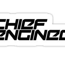 Chief Engineer Sticker