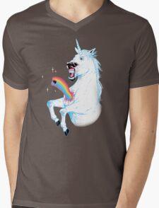Rainbowburster Mens V-Neck T-Shirt