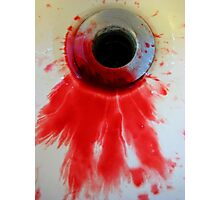 Blood Photographic Print