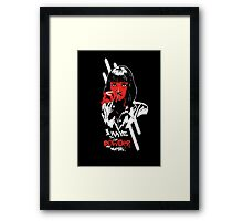 Pulp Fiction - Mia Wallace Framed Print