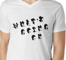 What's Going On Mens V-Neck T-Shirt