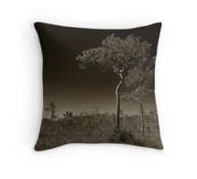 Pine Flatwoods Throw Pillow
