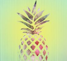 Pineapple fruit - Hawaii style phone   by pinkcastel