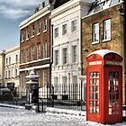 Greenwich High Road Telephone Box by Karen Martin